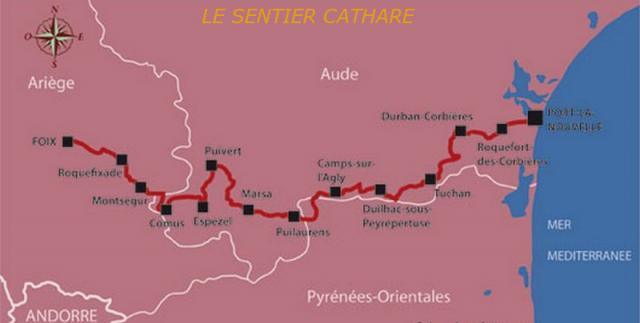 Sentiers cathares
